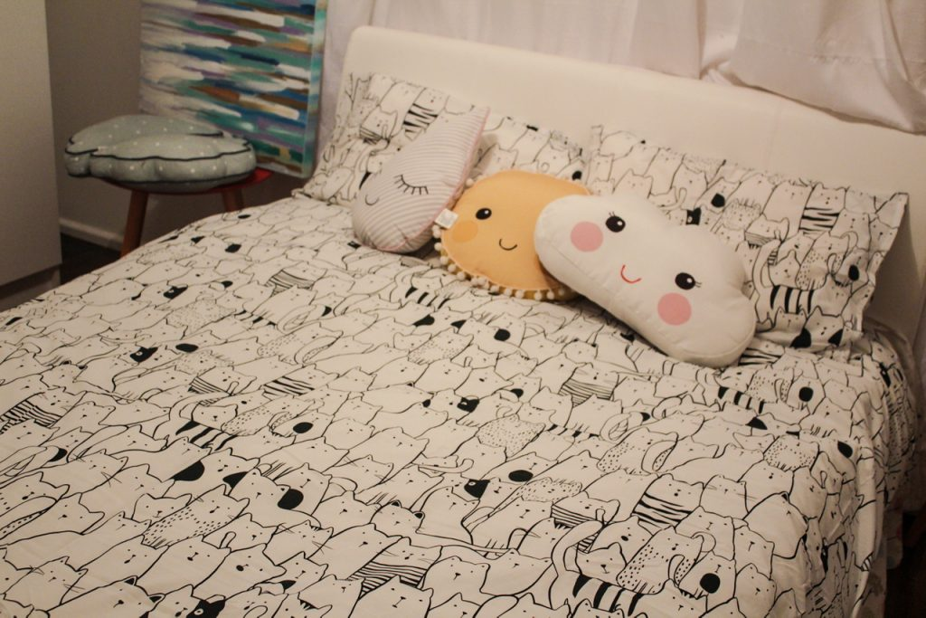 Kitty Quilt Cover