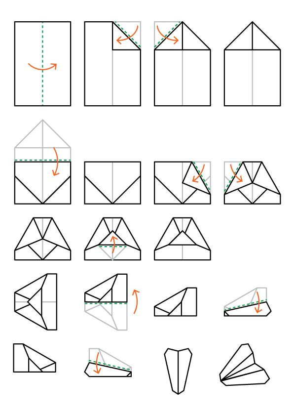 Folding Instructions: Outline
