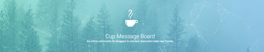 Cup Message Board