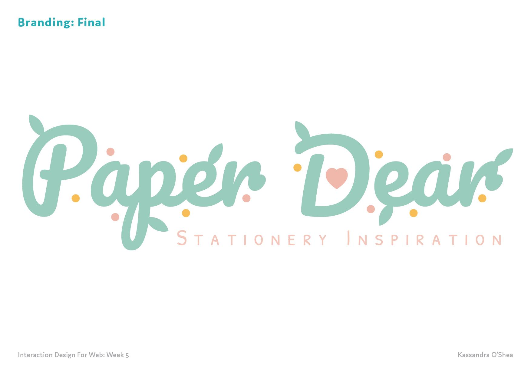 Branding: Final
