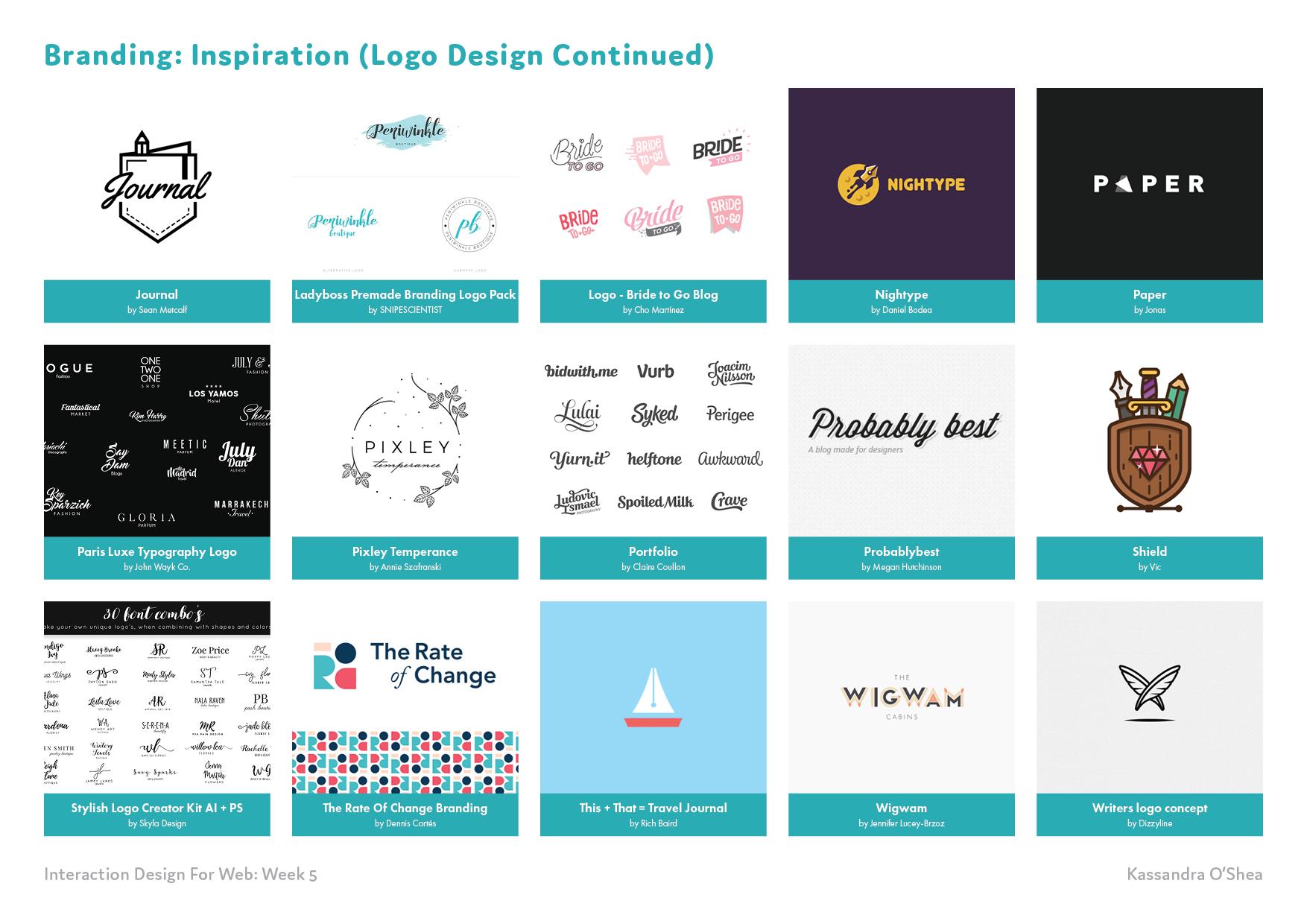 Branding: Inspiration (Logo Design)