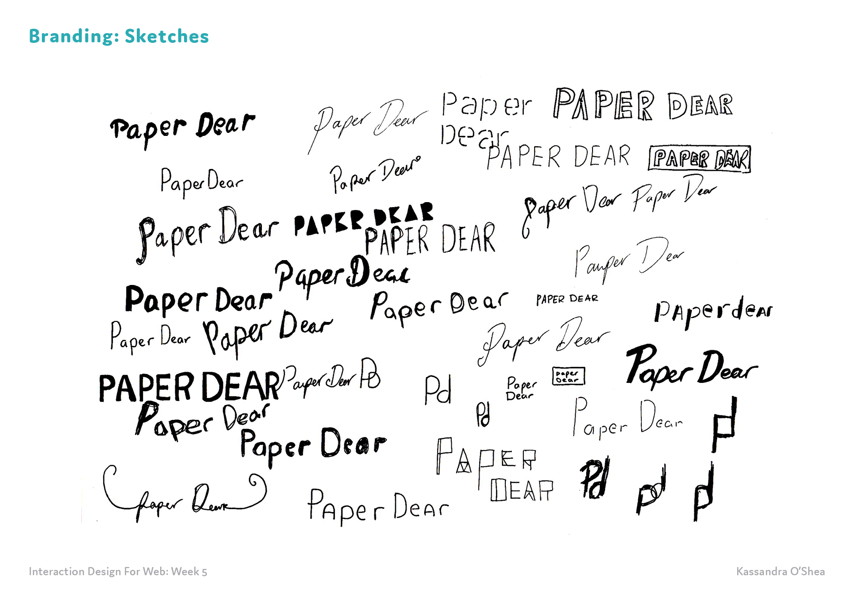 Branding: Sketches