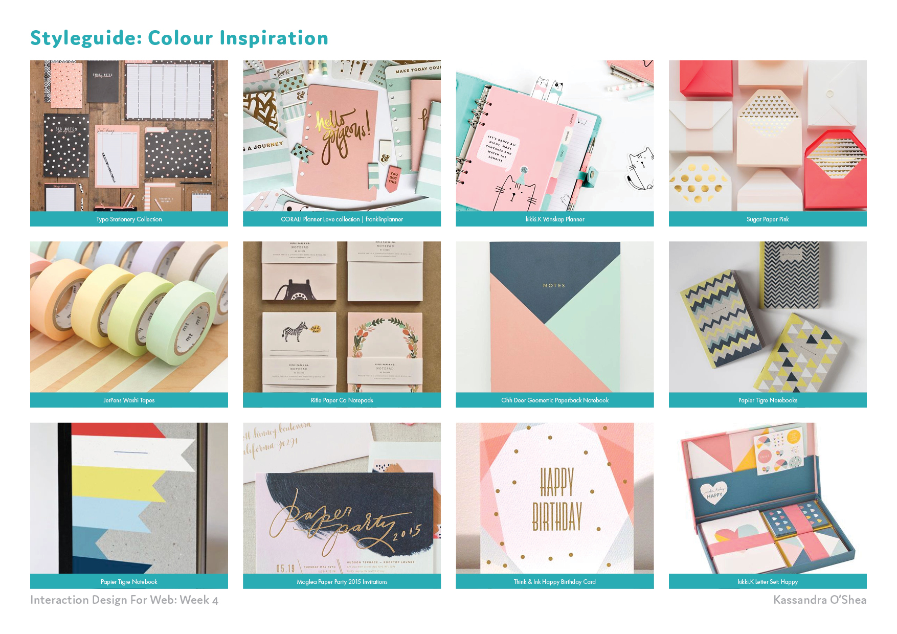 Styleguide: Colour Inspiration