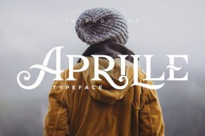 Aprille Typeface by Victor Barac