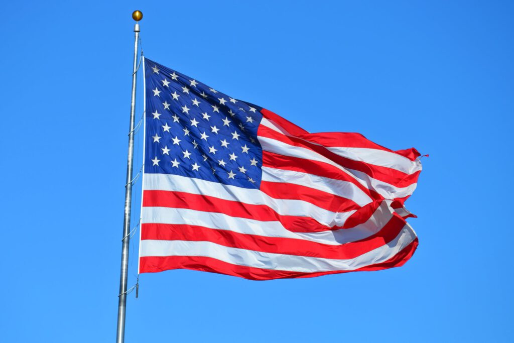 Free stock photo of administration, American flag, country by Brett Sayles (2018)