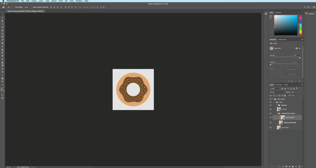 Step 5: Clipping Masks (optional)