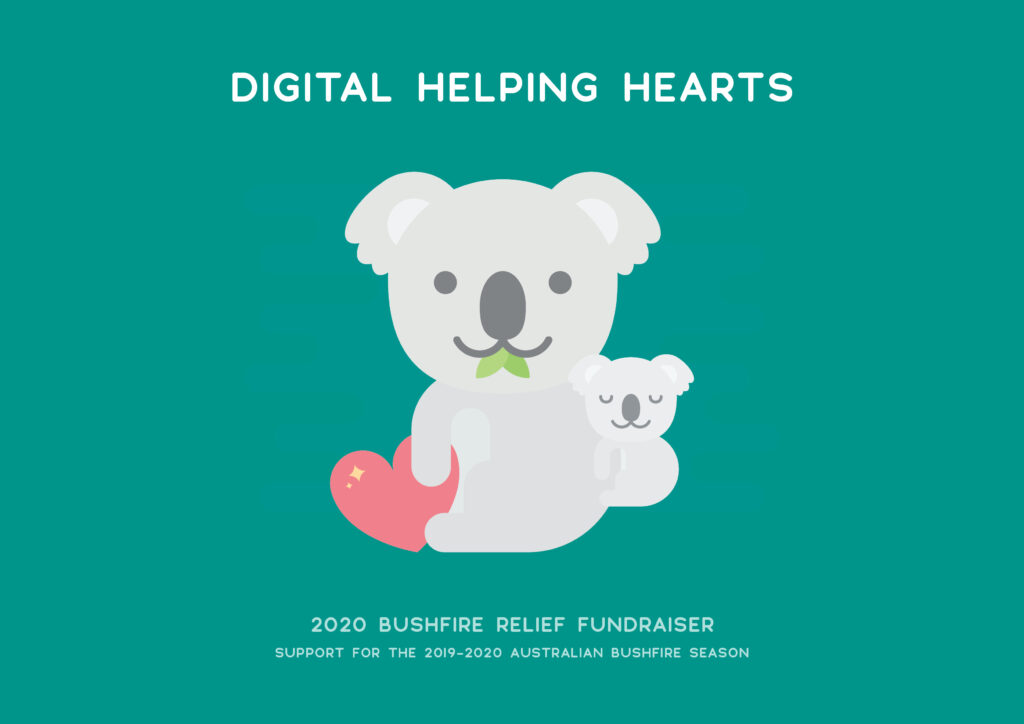 Digital Helping Hearts 2020 Australian Bushfire Relief Fundraiser