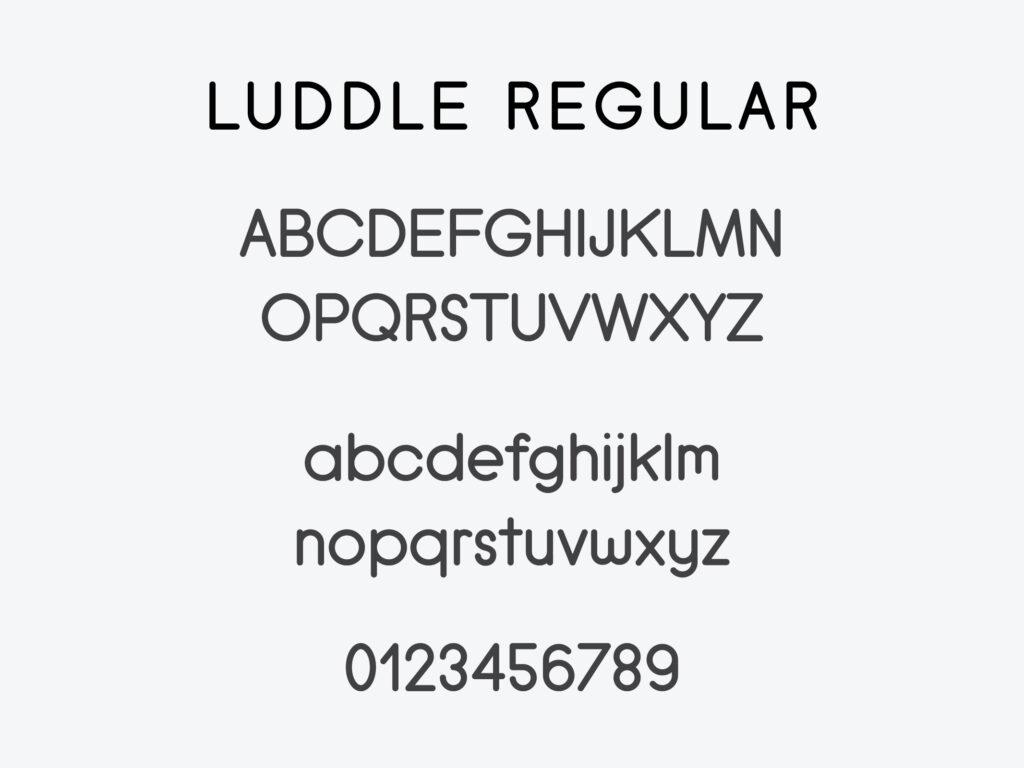 Luddle Font Family (Regular)