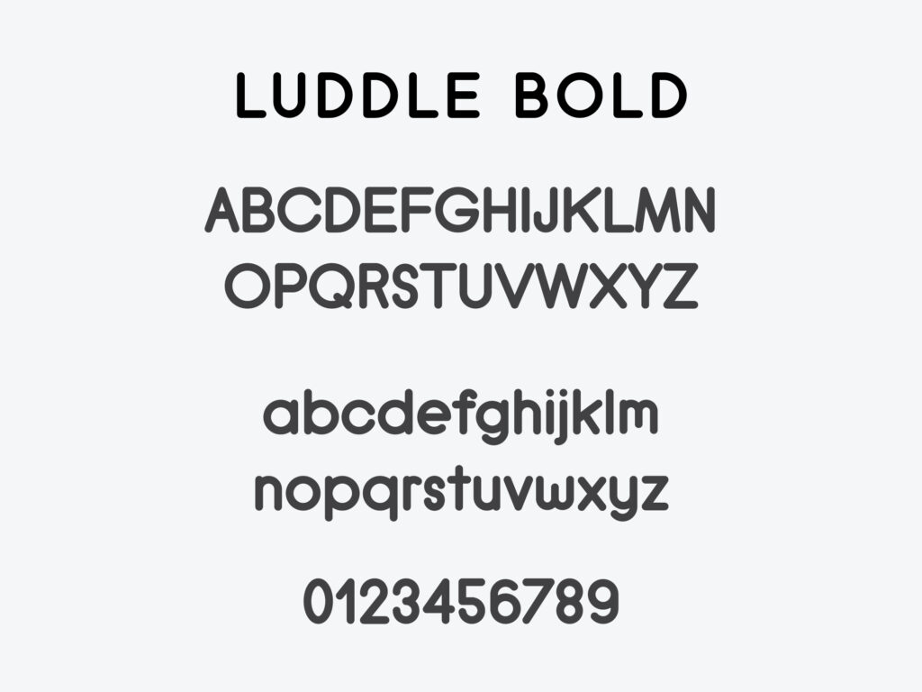 Luddle Font Family (Bold)