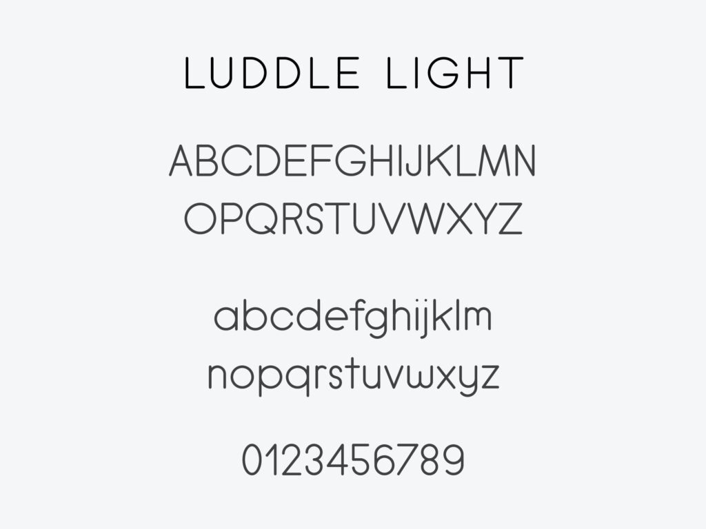 Luddle Font Family (Light)